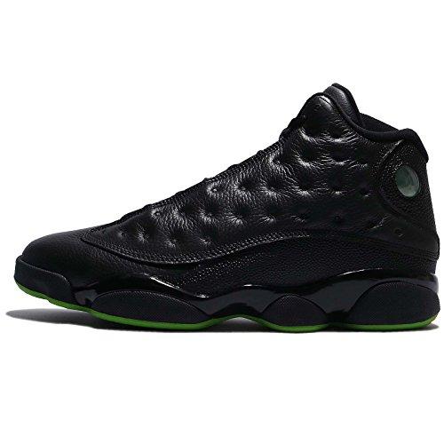 414571-042 Men Air Jordan 13 Retro Jordan Black/Altitude Green by Jordan