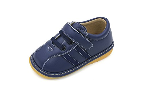 Toddler Shoes | Squeaky Navy Blue Sneakers Toddler Boy Shoes | Premium Quality (Removable Squeakers) (5)