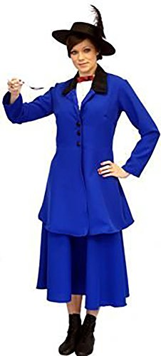 CL COSTUMES Stage-Shows-Victorian-Edwardian- Blue Mary Poppins Child