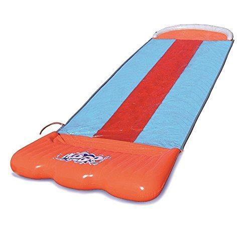 inflatable triple water slide kids