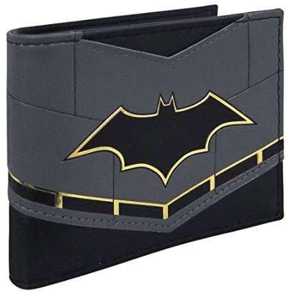 Batman Rebirth Logo Suit Up Men's Bi-Fold - Dc Wallet Comics