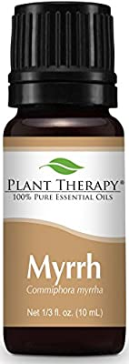 Plant Therapy Myrrh Essential Oil 10 mL (1/3 oz) 100% Pure, Undiluted, Therapeutic Grade by Plant Therapy Essential Oils