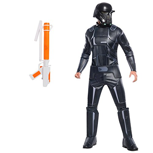 Rogue One: A Star Wars Story Death Trooper Adult Costume and Blaster Bundle Set ()