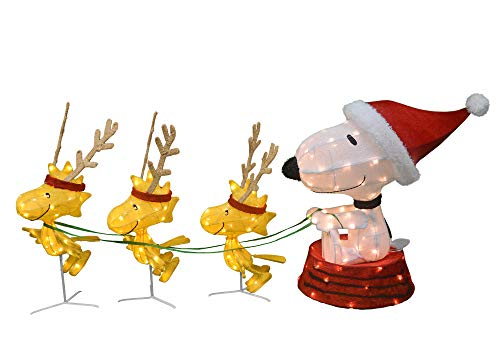 Peanuts Snoopy Outdoor Lighted Christmas Decoration in US - 2