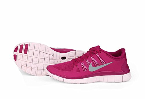 Nike Women's Free 5.0+ Laufschuh Hell Magenta / Mica Grün-Rot Violett-Lila