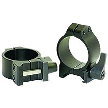 Warne Scope Mounts Low Matte Quick Detach Rings (30mm)