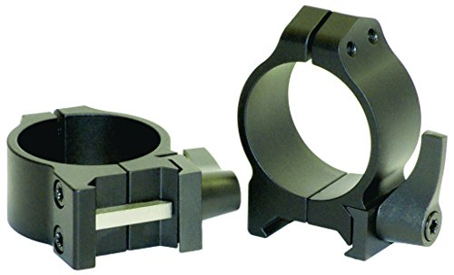 Warne Scope Mounts Low Matte Quick Detach Rings (30mm)