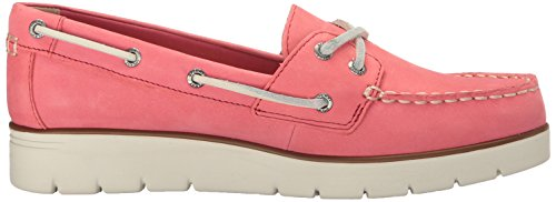 Sperry Top-sider Femmes Azur Cora Nubuck Bateau Chaussure Sauvage Rose