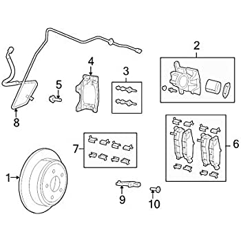 Disc Brake Caliper Guide Pin Mopar 6800 3777AA