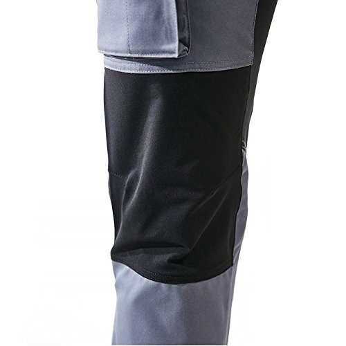 Blaklader 145918459499D124 Stretch Safety Pants D124 Grey//Black