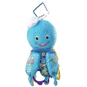 Amazon Com Baby Einstein Octopus Hanging Toy Blue
