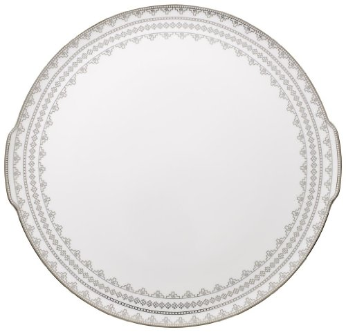 Villeroy and Boch White Lace Cake Plate 34cm ()