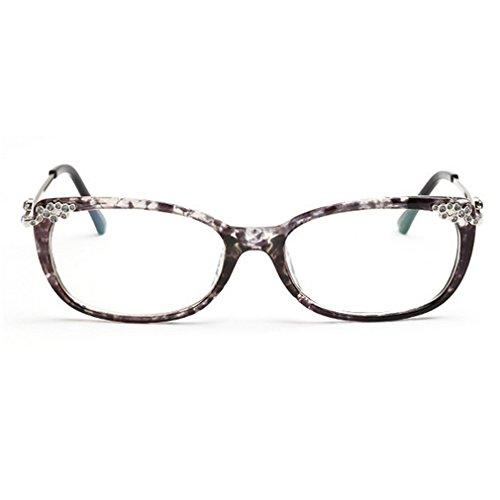 LOMOL Womens Fashion Trendy Rereo Cute College Style Transparent Lens EyeGlasses Plain - Friday Black Maui Deals