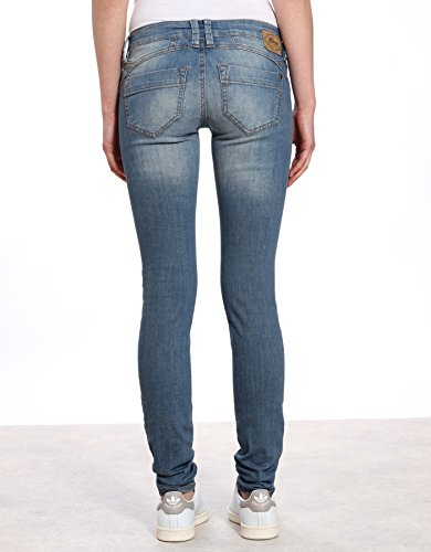 Gang Skinny Fit Jeans Nena, Greyblue Wash, Gr. W30