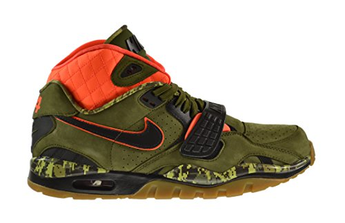 Nike Air Trainer SC II 2 Premium QS Mens' Shoes Faded Olive/Black-Hyper Crimson 637804-300 (9.5 D(M) US)