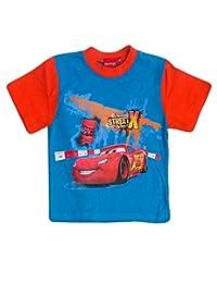 Disney Pixar Cars Boys Short Sleeve T-Shirt Age 2,3,4,5,6,7,8 Years