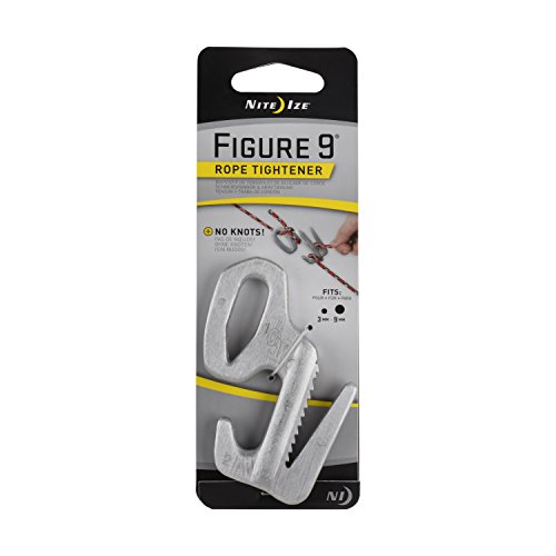 Nite Ize Figure 9 F9L0309 Large Rope Tightener with Rope - A