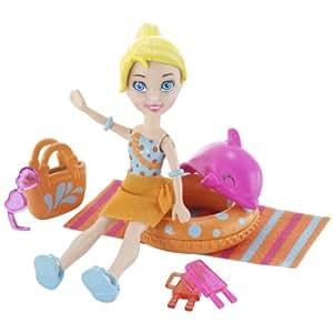Mattel piscina para ni os polly juguetes y for Amazon piscinas infantiles