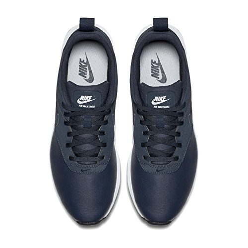 geniue stockist discount outlet locations Nike Air Max Tavas LTR Men's Sneaker Obsidian Wolf Grey Black White 400 YADhY2n3sg