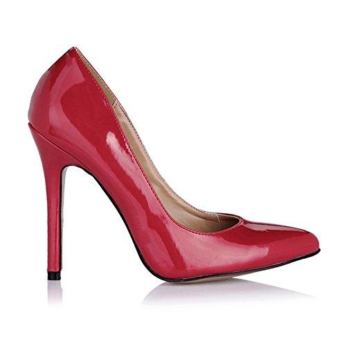 fait femmes wine et femmes pearl red sur talon black les Light haut chaussures de de Cliquez office pearl les sexy grandes chaussures chaussures 8qIRtg