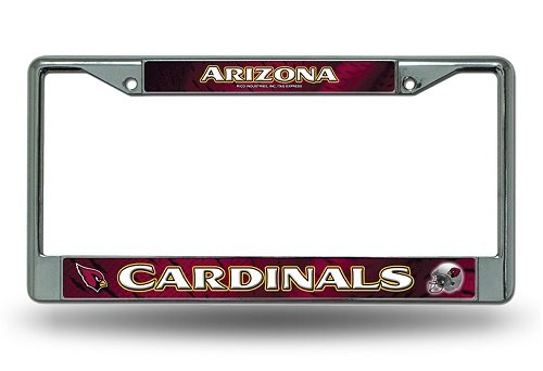 Arizona Frame (NFL Arizona Cardinals Chrome Licensed Plate Frame)