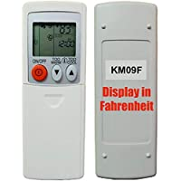 Replacement for Mitsubishi Electric Mr Slim Air Conditioner Remote Control KM09F (Display in Fahrenheit Only!!!)