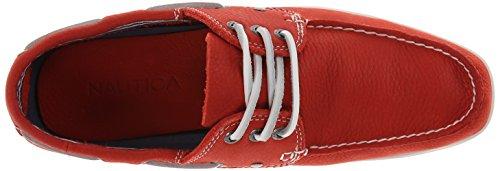 Nautica Men's Leather Flamenco Shoe Hyannis Coral Boat 7vq76