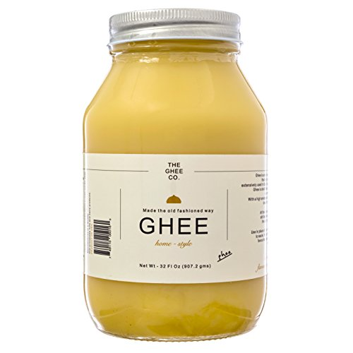 The Ghee Co., Pure Ghee made with Grade AA Unsalted butter