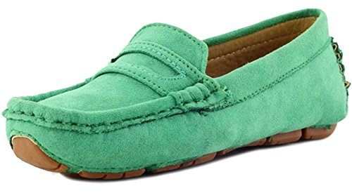 Image of PPXID Girl's Boy's Suede Slip-on Loafers Shoes(Toddler/Little Kid/Big Kid)
