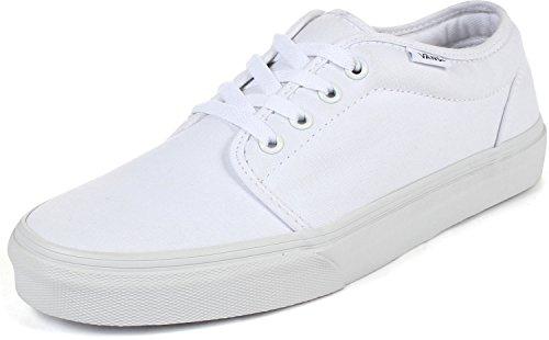 Vans U 106 Vulcanized Shoes in True White, Size: 12 D(M) US Mens, Color True White