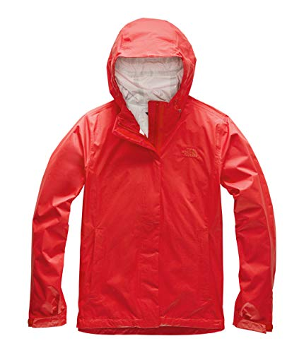 - The North Face Women's Venture 2 Jacket, Fiery Red, 3XL