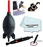 Giottos AA1900 Large Rocket Blaster+VCC113 Micro-Fiber Cloth+Cleaning Lens Pen
