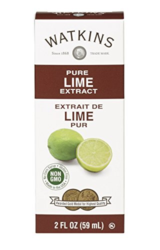 Watkins Pure Extract, Lime, 2 fl oz, 24 Count (Packaging May Vary)