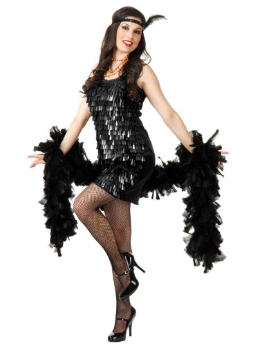 Tear Drop Sequin Flapper