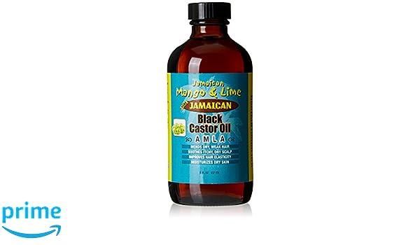 Jamaican Mango & Lima Aceite de Ricino/Amla 100% natural 236 ml ...