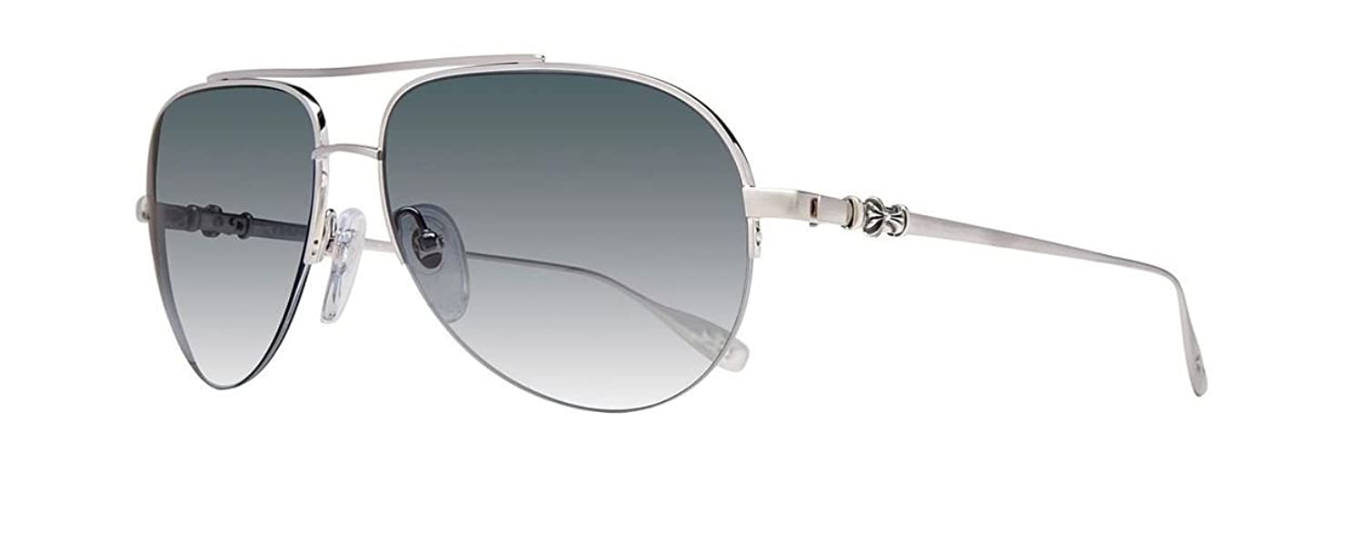 Chrome Hearts Silver Stain Sunglasses For Women