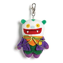 Gund Uglydoll DC Comics Big Toe as Joker Backpack Clip Plush