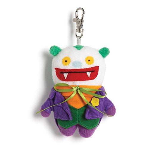 Toe Uglydoll Big (Gund Uglydoll DC Comics Big Toe as Joker Backpack Clip Plush)