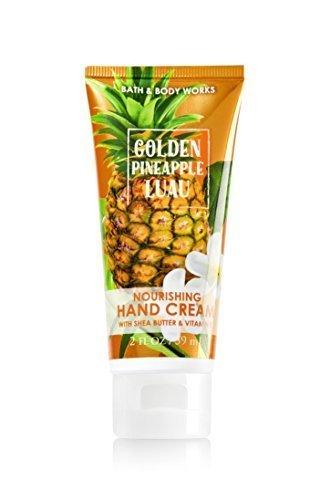 Bath and Body Works Nourishing Hand Cream Golden Pineapple Luau 2 Ounce - Fresh Cream Pineapple
