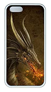 iPhone 5S Case, iPhone 5 Cover, iPhone 5S Dragon Soft Cases