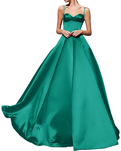 Avril Party Satin Sexy Dress Spaghhetti Evening Peacock Dress Gown New Prom rwBqRCrx