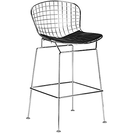 huge selection of 5d328 99bb4 Amazon.com: EdgeMod Morph Counter Stool: Kitchen & Dining