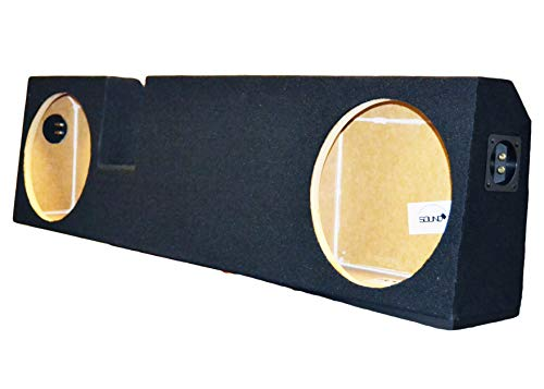 GMC 1500//2500//3500HD Crew Cab Bbox A162-10CP Dual 10 Sealed Carpeted Subwoofer Enclosure Fits 1999-2006 Chevrolet