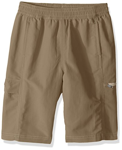 White Sierra Boy's Sierra Trail Short, Bark, X-Small by White Sierra