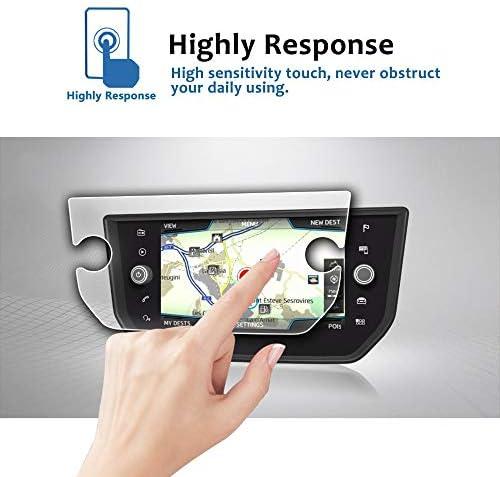XHULIWQ スクリーンプロテクターナビゲーションタッチディスプレイ9H強化ガラス保護フィルム、シート用Arona Seat Media System Plus 8inch