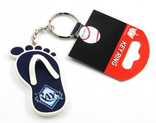 (Tampa Bay Rays - MLB Flip Flop Key Chain)