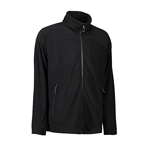 Pile Giacca Uomo Zip In Active N Nero Mix Id vBqZPT