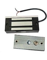 12V 24V 100Lbs 60kg Mini Magnetic Door Lock Fail Safe Cabinet Drawer Lock
