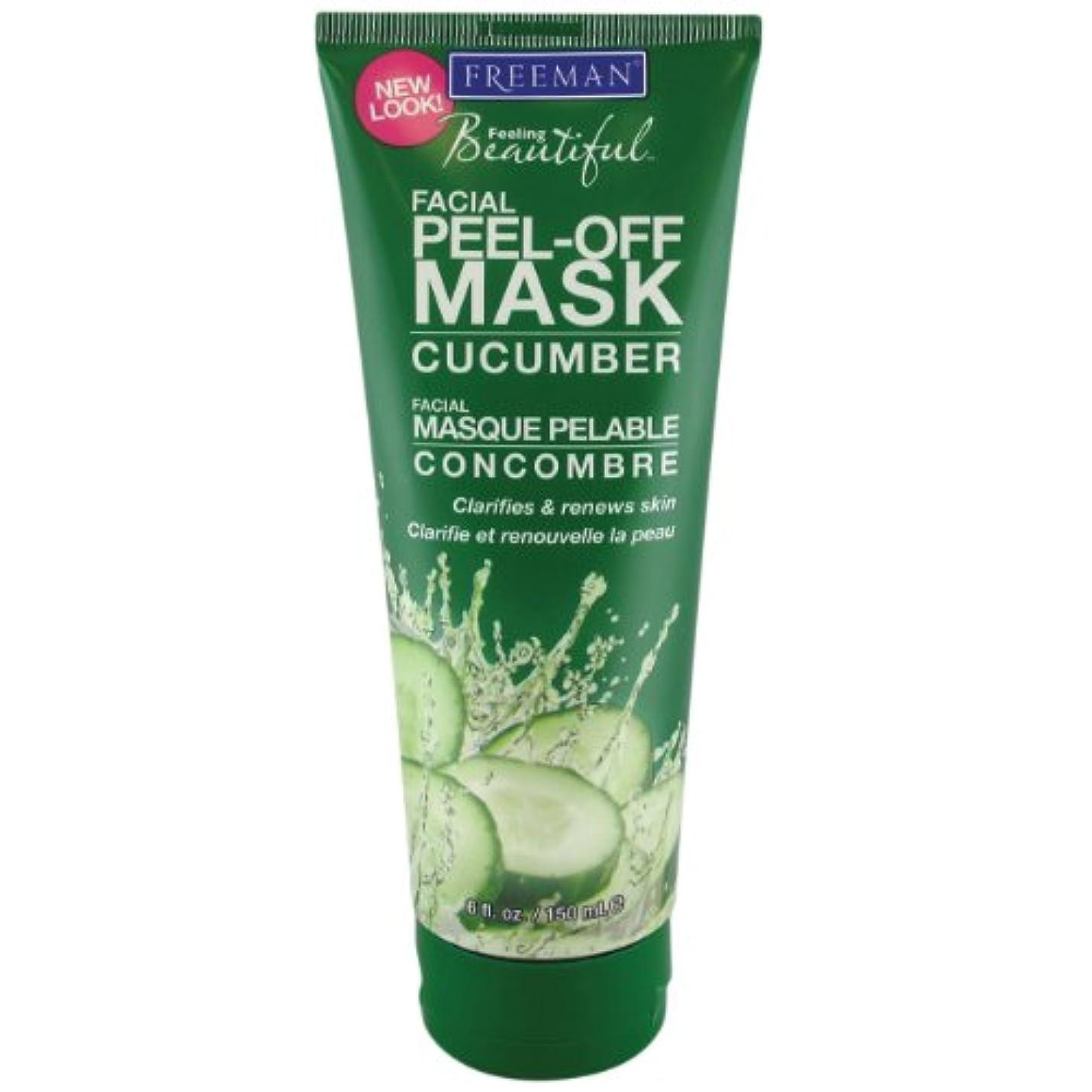 辞書粗いとまり木Freeman Facial Peel-Off Mask Cucumber 150 ml (並行輸入品)