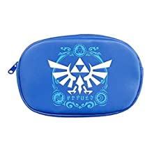 Legend of Zelda A Link Between Worlds Zipper Pouch Furyu - Blue Pouch
